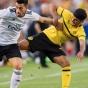Дортмунд уступил Бенфике в серии пенальти
