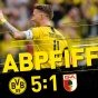Дортмунд на низком старте громит Аугсбург!