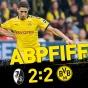 Дортмунд опят упустил победу, теперь во Фрайбурге…