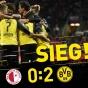 Дортмунд выстрадал гостевую победу у Славии!