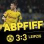 Дортмунд дважды сам отпустил Лейпциг…