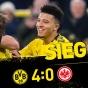 Дортмунд крупно громит безвольный Франкфурт!