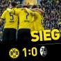 Дортмунд с большим трудом одолел Фрайбург!