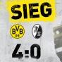 Дортмунд дома крупно разнёс Фрайбург!