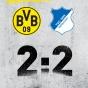 Дортмунд с трудом спасся от поражения, но не победил…