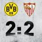 Дортмунд добился нужного счёта и прошёл Севилью!