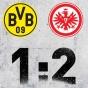 Дортмунд уступает Франкфурту в борьбе за ЛЧ…