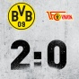 Дортмунд с трудом выдавил победу над Унионом!