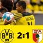 Дортмунд в родных стенах не без проблем одолел Аугсбург!